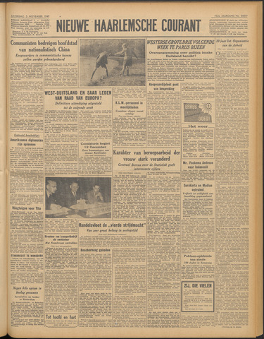 Nieuwe Haarlemsche Courant 1949-11-05