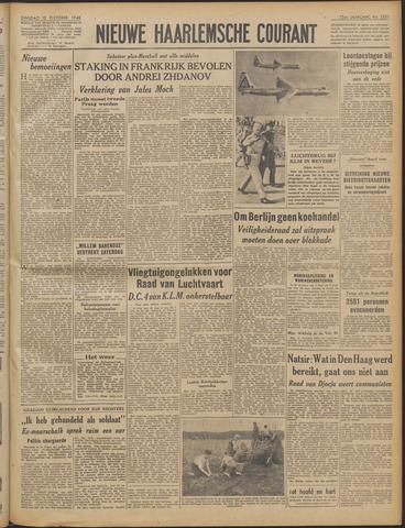 Nieuwe Haarlemsche Courant 1948-10-12