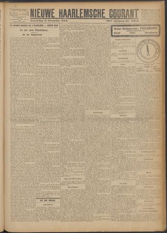 Nieuwe Haarlemsche Courant 1923-11-15