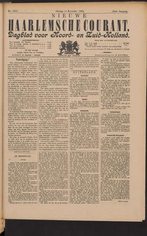 Nieuwe Haarlemsche Courant 1899-11-14