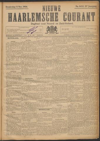Nieuwe Haarlemsche Courant 1906-11-15