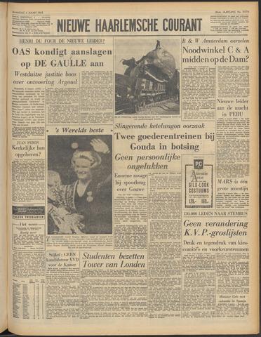 Nieuwe Haarlemsche Courant 1963-03-04