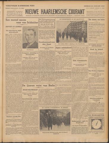 Nieuwe Haarlemsche Courant 1933-01-24