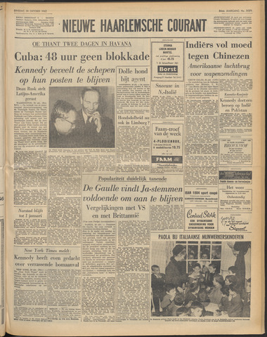 Nieuwe Haarlemsche Courant 1962-10-30