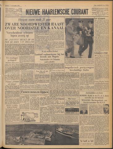 Nieuwe Haarlemsche Courant 1952-11-07