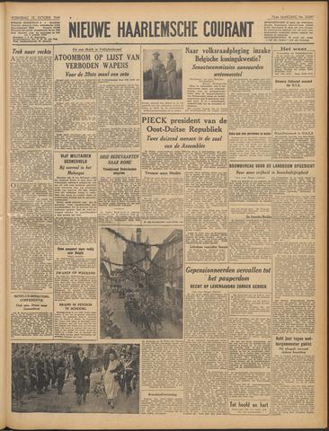 Nieuwe Haarlemsche Courant 1949-10-12