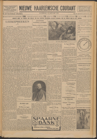 Nieuwe Haarlemsche Courant 1932-01-30