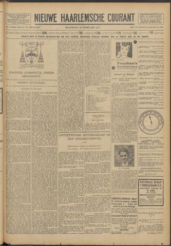 Nieuwe Haarlemsche Courant 1931-02-16