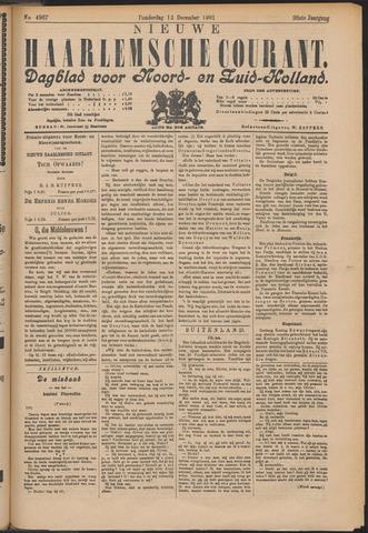 Nieuwe Haarlemsche Courant 1901-12-12