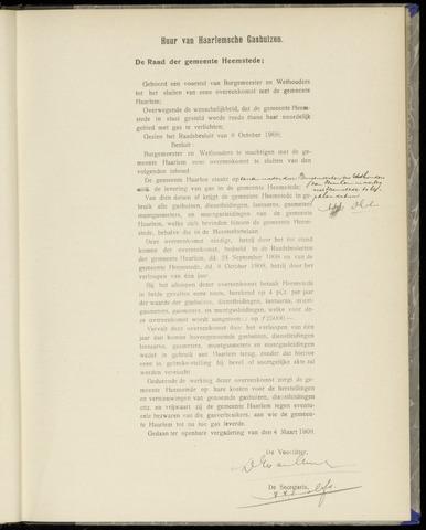 Raadsnotulen Heemstede 1909-03-04