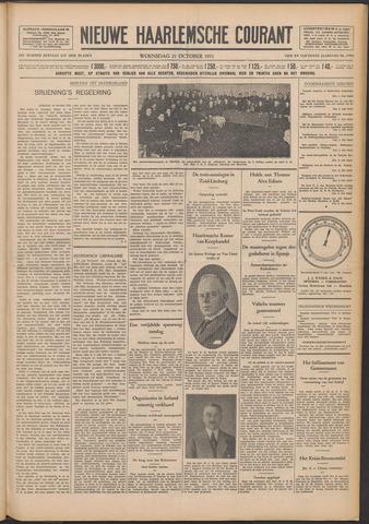 Nieuwe Haarlemsche Courant 1931-10-21