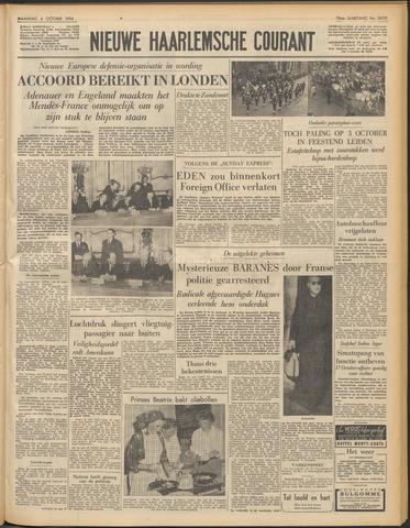 Nieuwe Haarlemsche Courant 1954-10-04