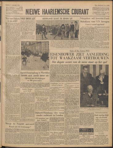 Nieuwe Haarlemsche Courant 1955-01-07