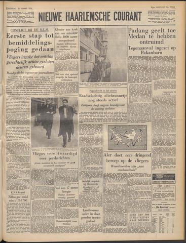 Nieuwe Haarlemsche Courant 1958-03-20