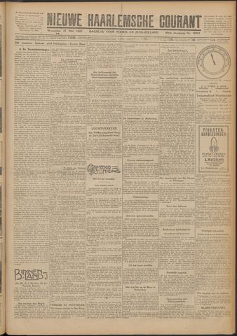 Nieuwe Haarlemsche Courant 1925-05-27