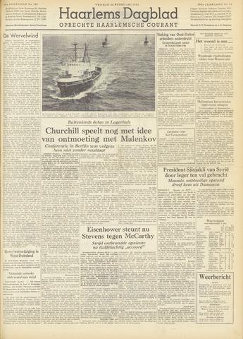 Haarlem's Dagblad 1954-02-26