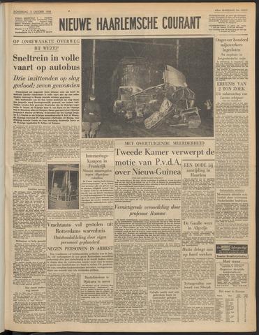Nieuwe Haarlemsche Courant 1958-10-02