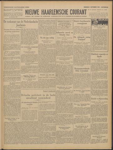 Nieuwe Haarlemsche Courant 1940-09-04