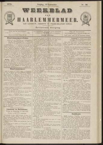 Weekblad van Haarlemmermeer 1876-09-08