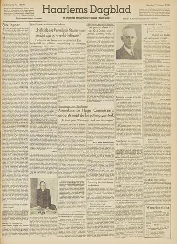 Haarlem's Dagblad 1950-02-07