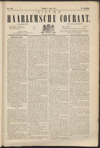 Nieuwe Haarlemsche Courant 1884-06-01