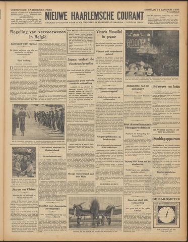 Nieuwe Haarlemsche Courant 1936-01-14