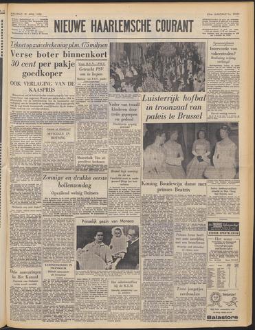 Nieuwe Haarlemsche Courant 1958-04-21