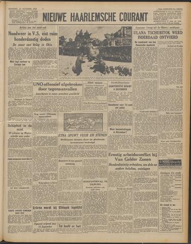 Nieuwe Haarlemsche Courant 1950-11-27