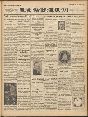 Nieuwe Haarlemsche Courant 1934-03-09