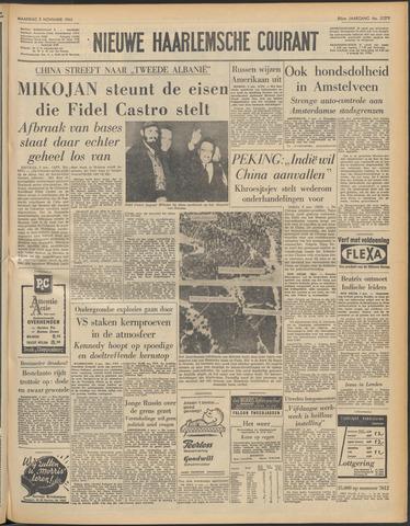 Nieuwe Haarlemsche Courant 1962-11-05