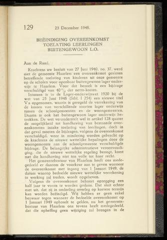 Raadsnotulen Heemstede 1948-12-23