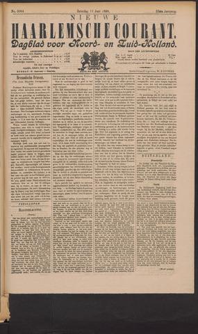 Nieuwe Haarlemsche Courant 1898-06-11