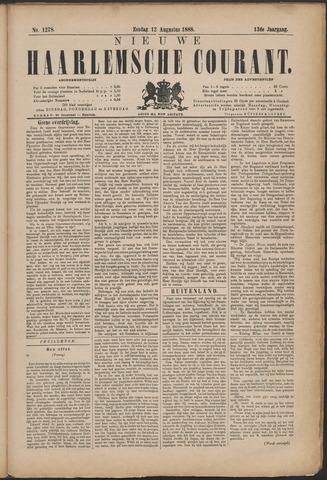 Nieuwe Haarlemsche Courant 1888-08-12