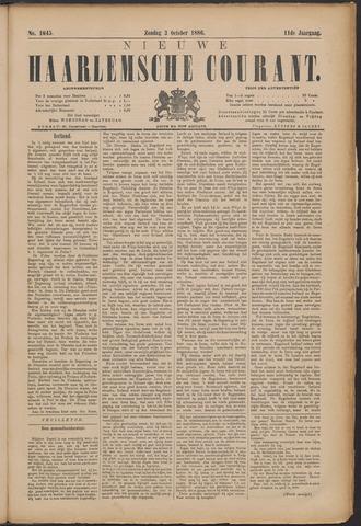 Nieuwe Haarlemsche Courant 1886-10-03