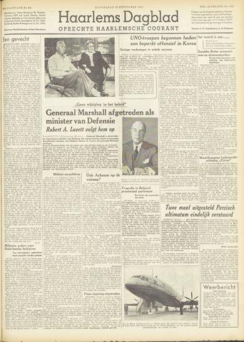 Haarlem's Dagblad 1951-09-13