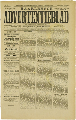 Haarlemsch Advertentieblad 1895-02-02