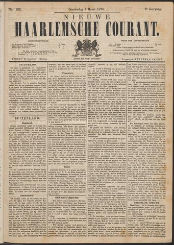 Nieuwe Haarlemsche Courant 1878-03-07