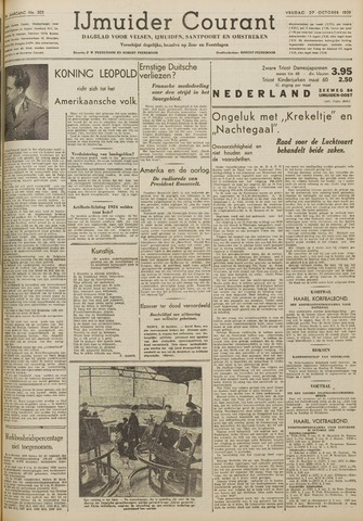 IJmuider Courant 1939-10-27