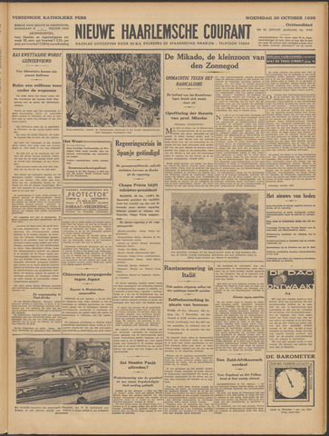 Nieuwe Haarlemsche Courant 1935-10-30