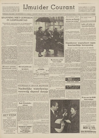 IJmuider Courant 1959-01-10