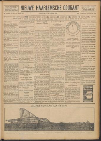 Nieuwe Haarlemsche Courant 1930-10-07