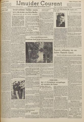 IJmuider Courant 1948-08-13