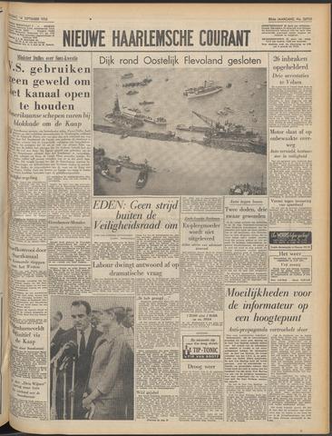 Nieuwe Haarlemsche Courant 1956-09-14