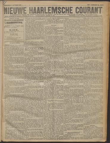 Nieuwe Haarlemsche Courant 1919-10-09