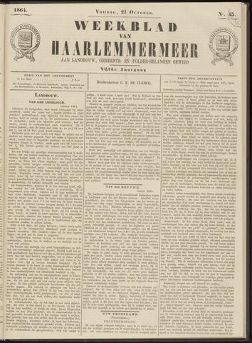 Weekblad van Haarlemmermeer 1864-10-21