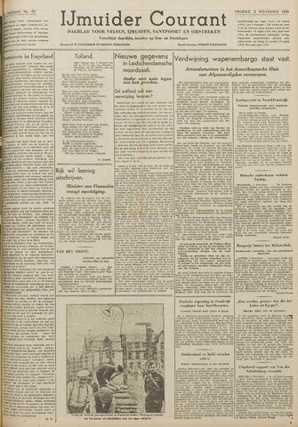 IJmuider Courant 1939-11-03
