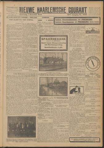 Nieuwe Haarlemsche Courant 1923-11-07