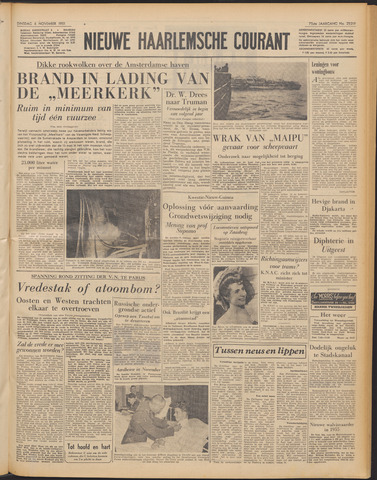 Nieuwe Haarlemsche Courant 1951-11-06