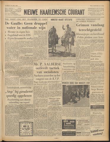 Nieuwe Haarlemsche Courant 1963-04-20