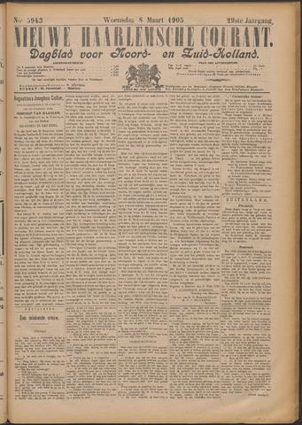 Nieuwe Haarlemsche Courant 1905-03-08